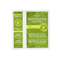 Revitalize Hair Oil & Mask Packette with Macadamia