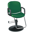 Pibbs Chameleon Hunter Green Styling Chair