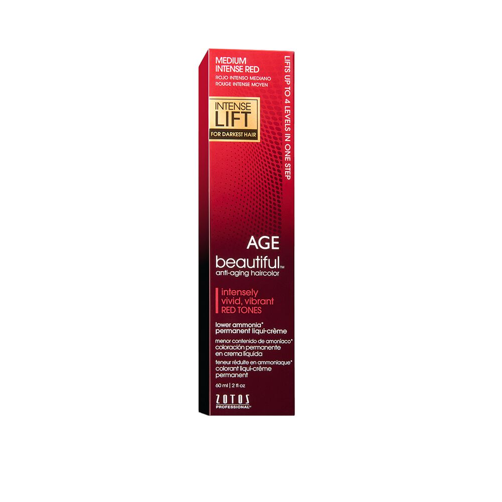 Intense Lift Medium Intense Red Permanent Liqui Creme Hair Color By
