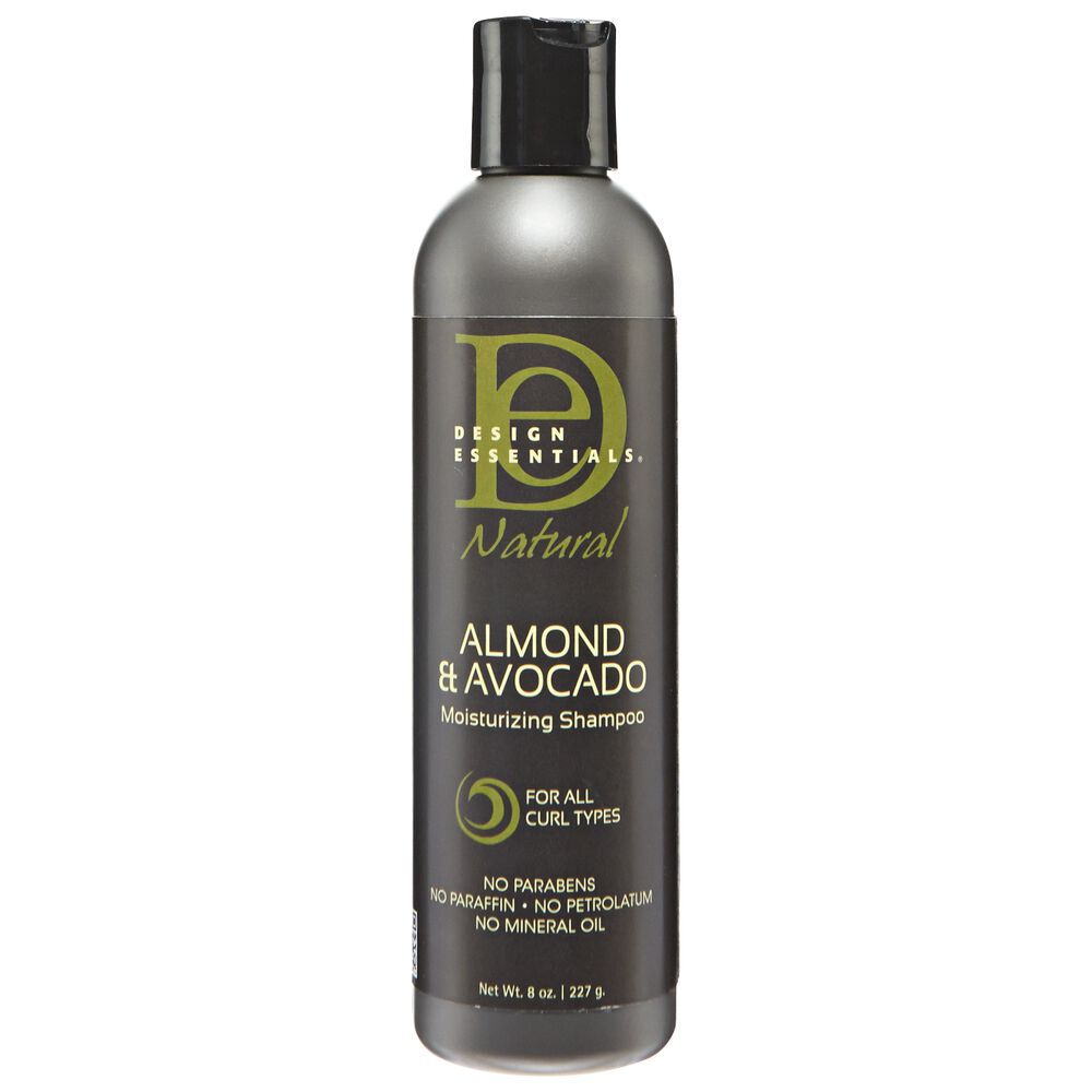 Almond Avocado Moisturizing Shampoo By Design Essentials Shampoo