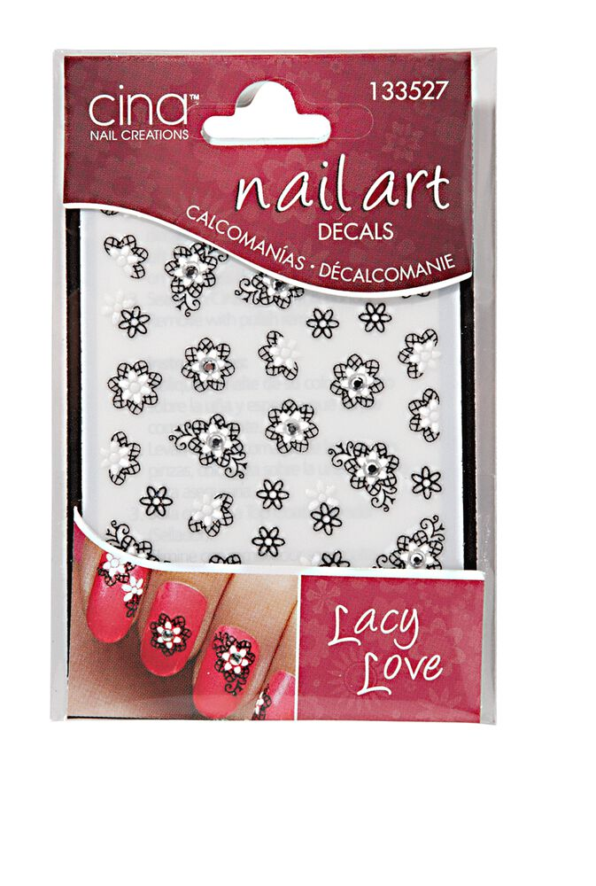 Lacey Love Nail Art Jewelry Decals