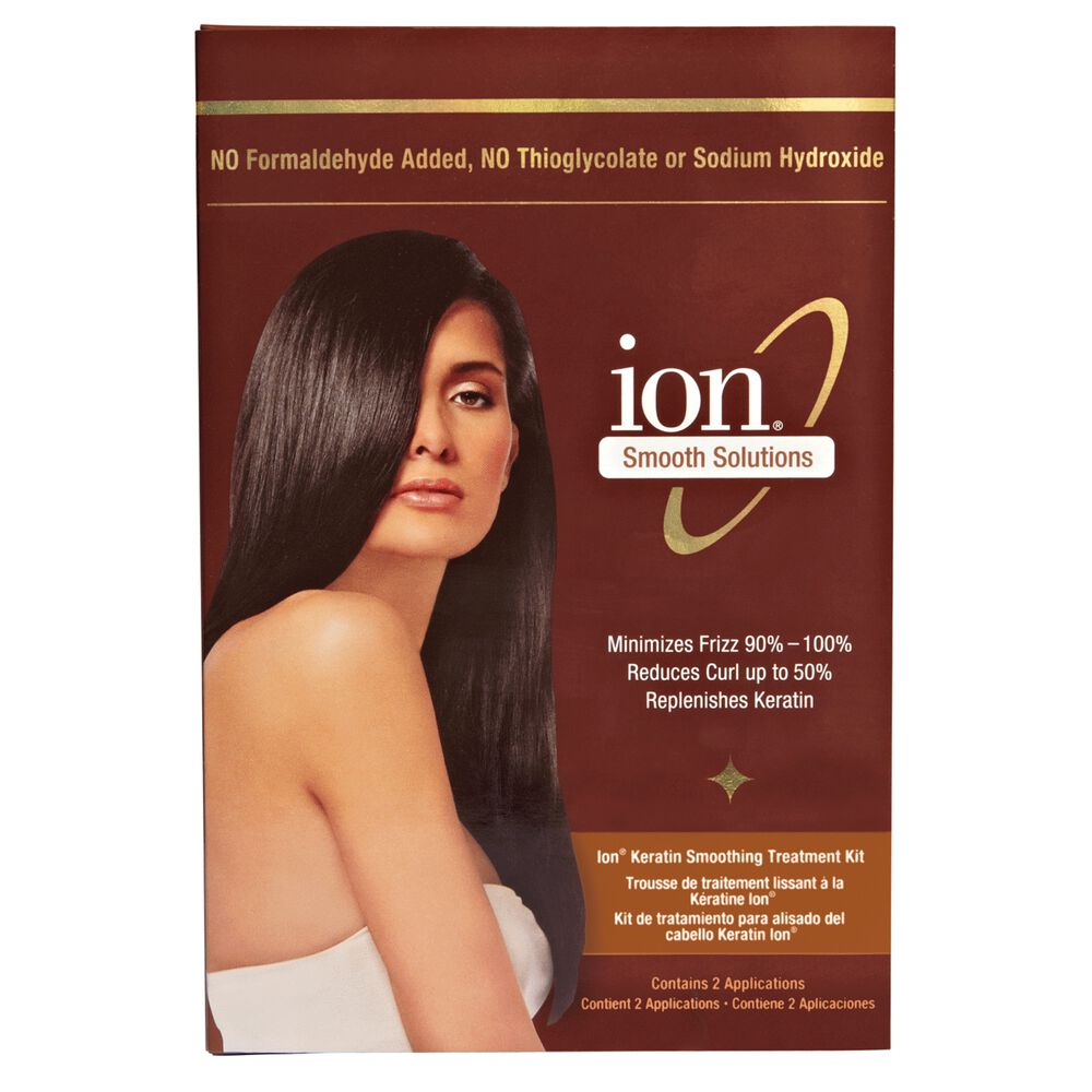 Ion Keratin Smoothing Treatment Kit By Smooth Solutions Treatments