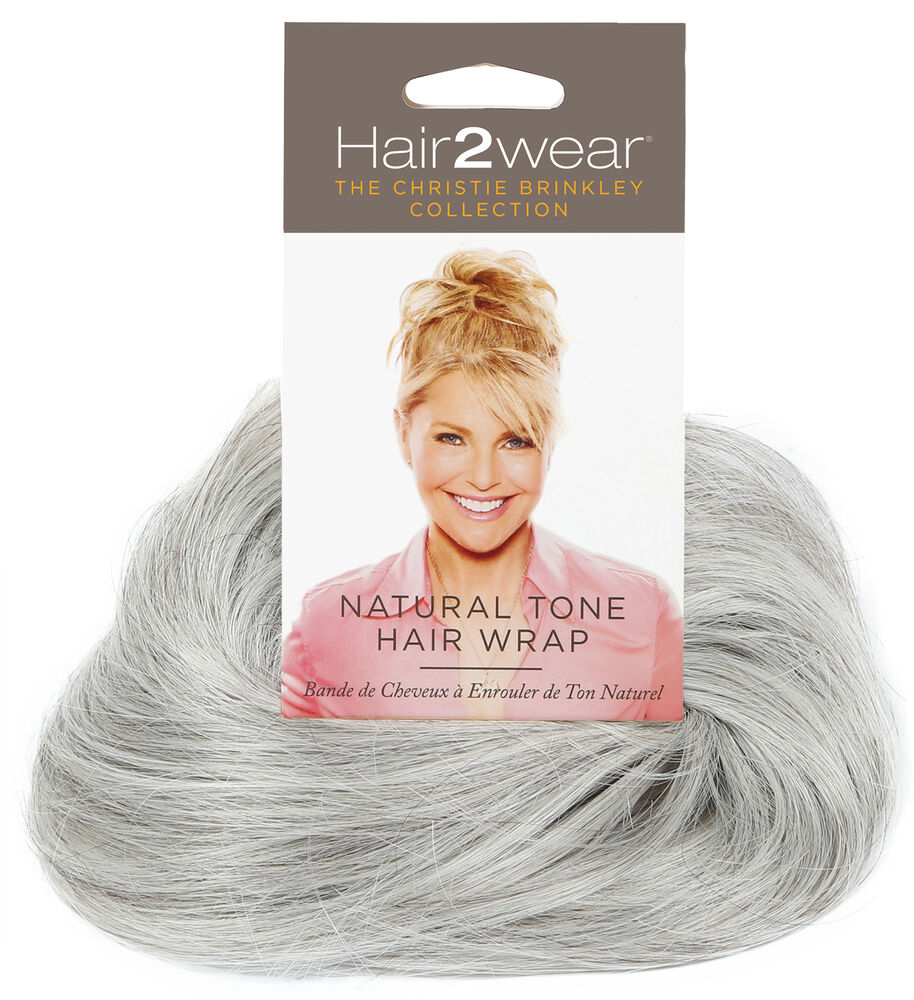 Natural Hair Wrap Light Grey