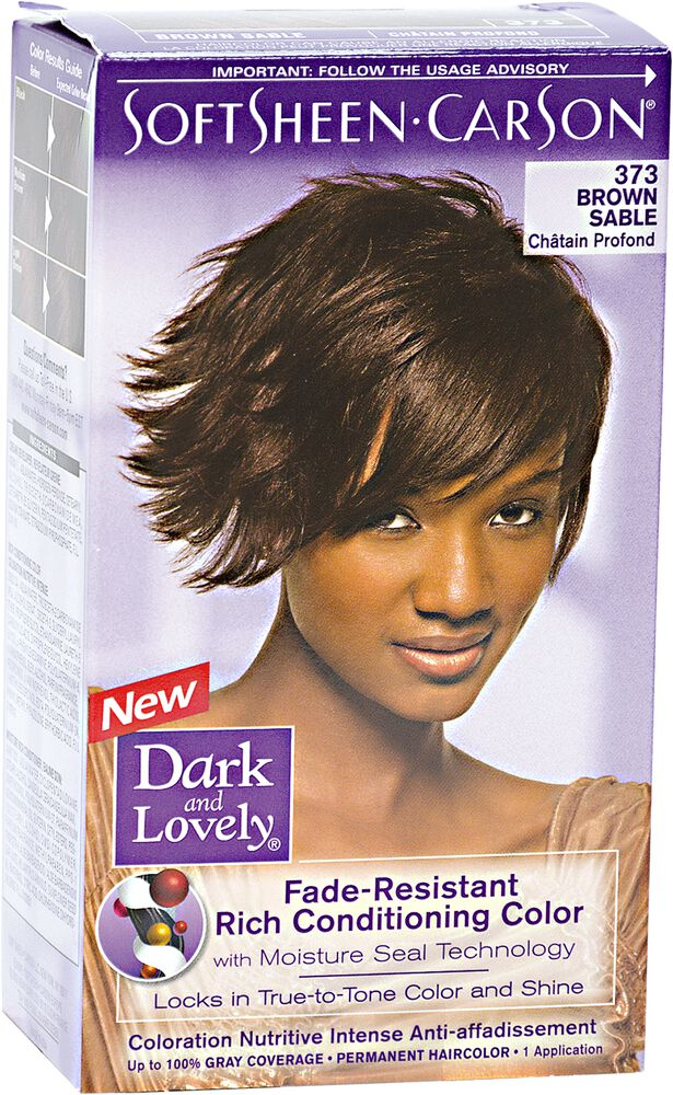 Fade Resistant Brown Sable Permanent Hair Color By Dark Lovely