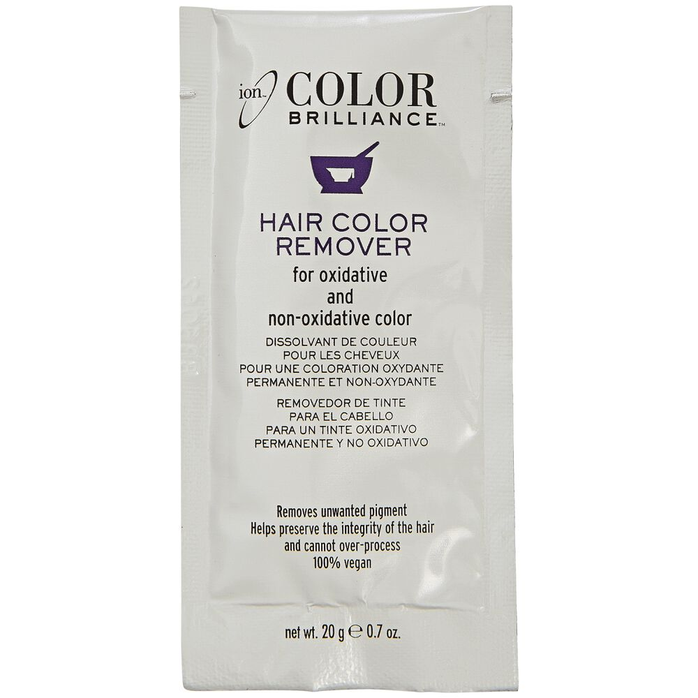 Ion Color Brilliance Hair Color Remover Hair Color Removers