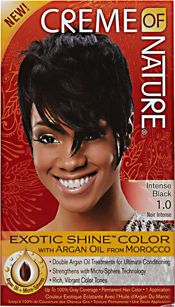Creme Of Nature Exotic Shine Hair Color Intense Black