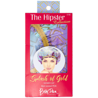 Splash of Gold Shower Cap