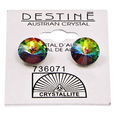 Destine Vitrail Medium Rivoli Earrings