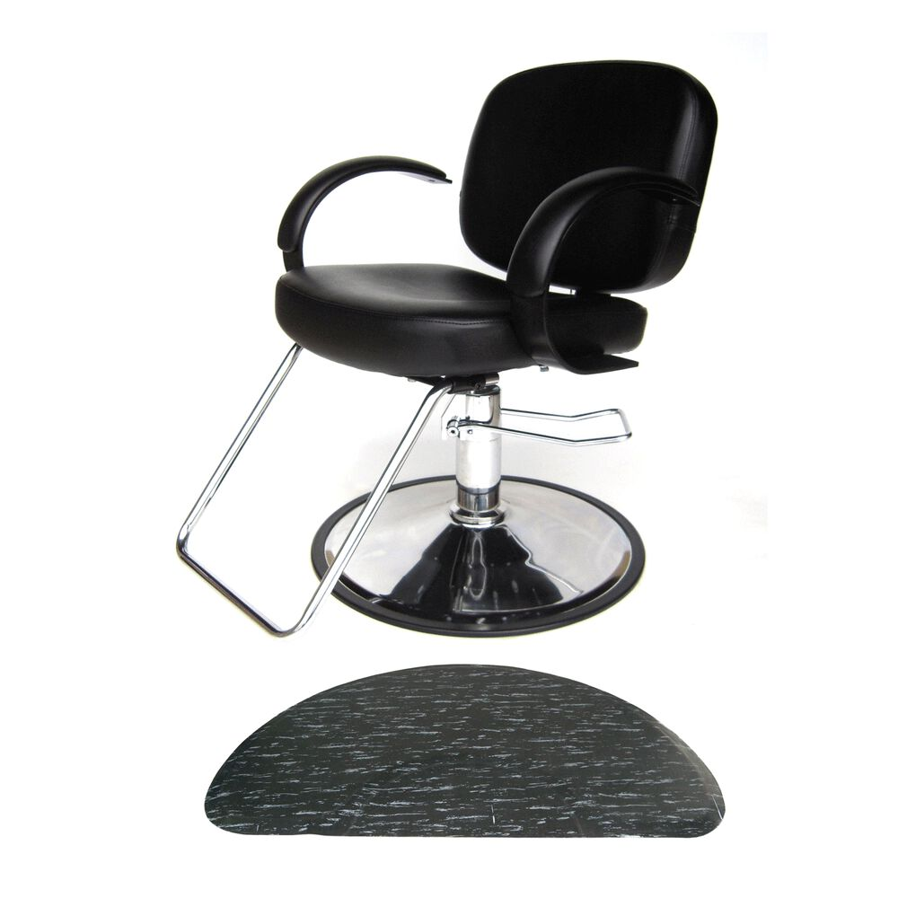 Puresana Layla Styling Chair With Black Marbleized Half