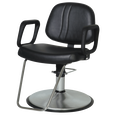 Lexus Styling Chair With Chrome Base