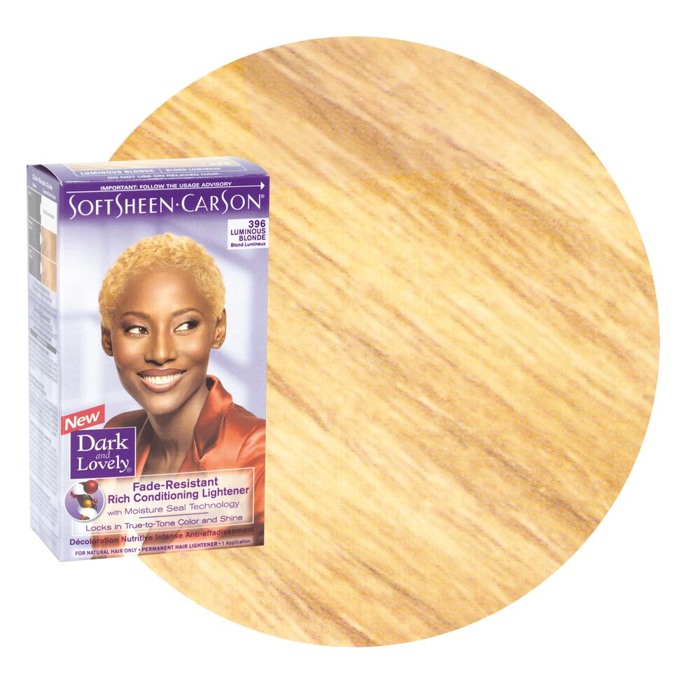 Fade Resistant Luminous Blond Permanent Hair Color By Dark Lovely