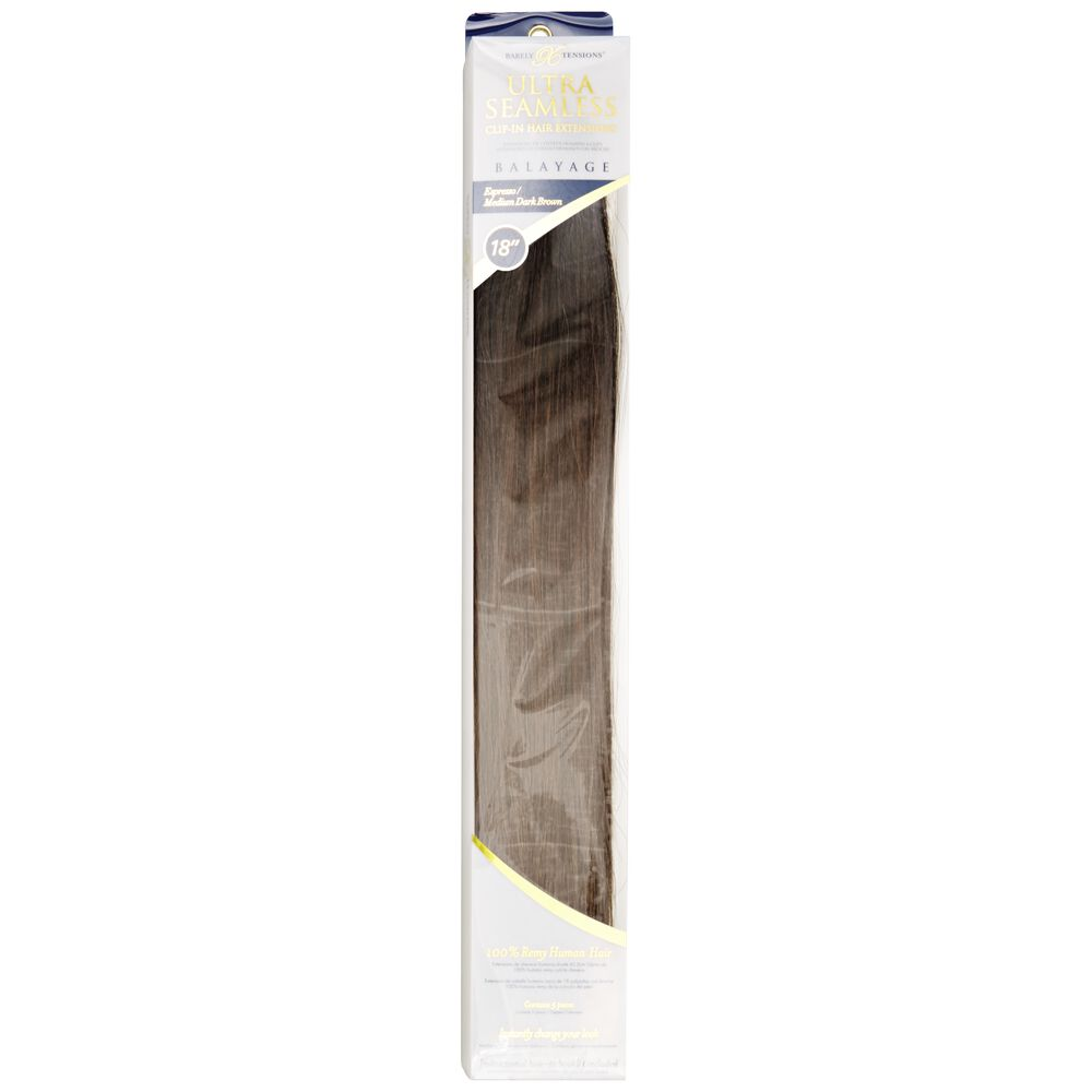 Barely Xtensions Ultra Seamless Clip In Human Hair Extensions 18