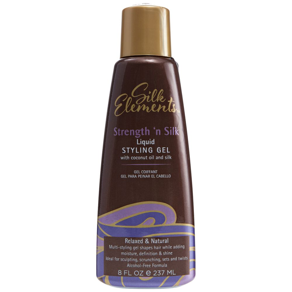 Hair Gel Styles: Silk Elements Liquid Styling Gel At Sally Beauty Supply