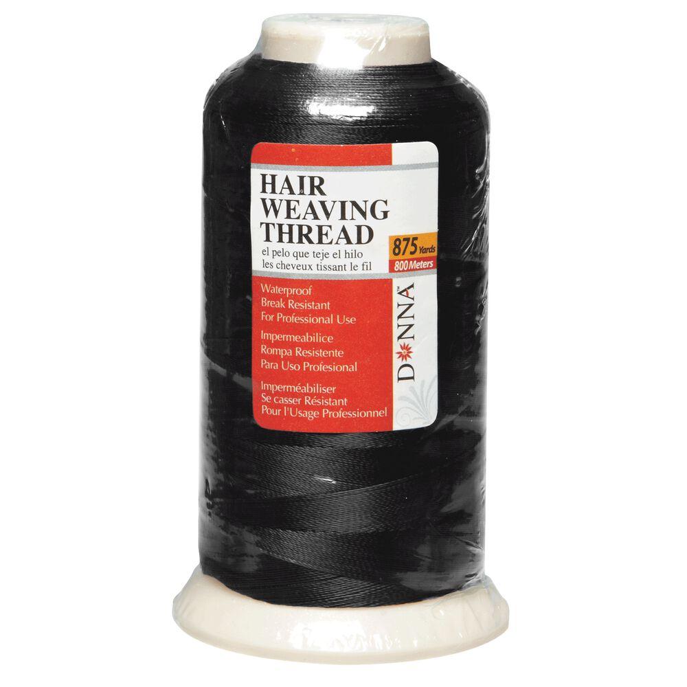 Donna Black Hair Weaving Thread 875 Yards