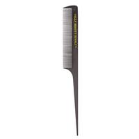 #20 Black Professional Rattail Comb