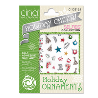 Holiday Cheer Decals Holiday Ornaments