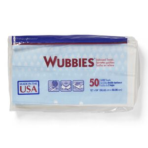 Wubbies Embossed Towels