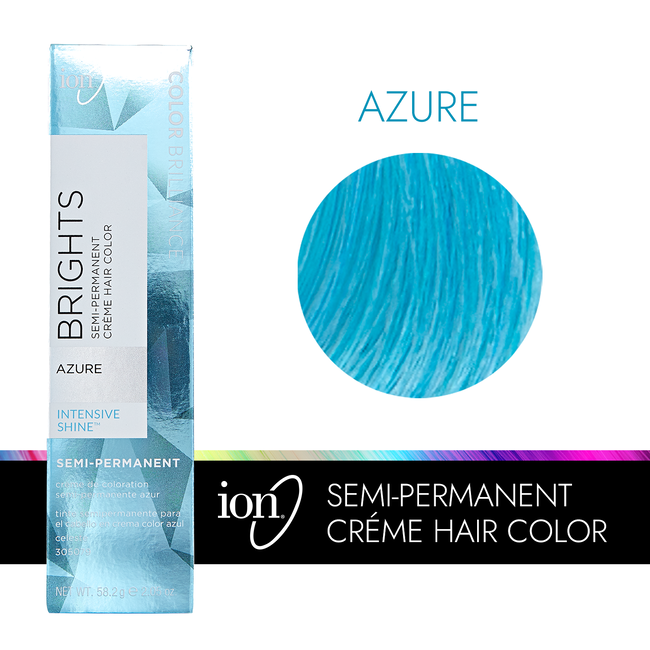 Azure Semi Permanent Hair Color