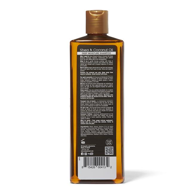 Shea & Coconut Oil Deep Moisture Shampoo