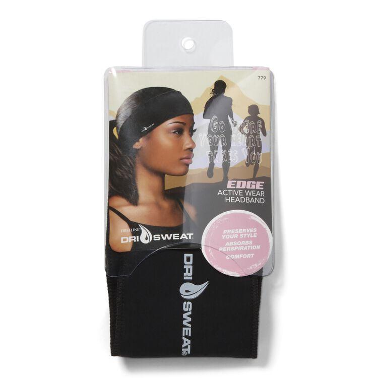 Edge Active Wear Black Headband