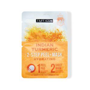 2-Step Peel Pad + Sheet Mask Indian Turmeric