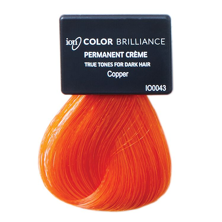 True Tones for Dark Hair Permanent Crème Hair Color Copper
