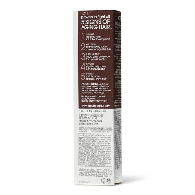 5V Medium Plum Brown Permanent Liqui-Creme Hair Color