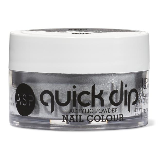Quick Dip Powders Silver Sheen