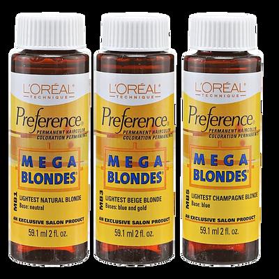 Mega Blondes Permanent Hair Color
