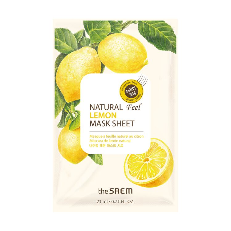 Lemon Sheet Mask