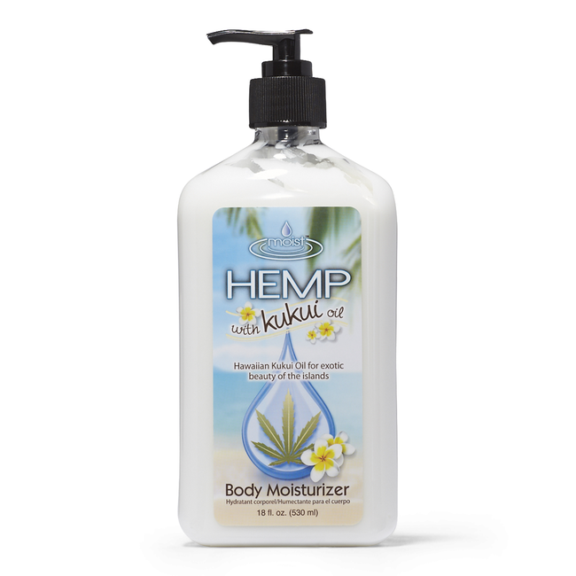 Moist Hemp Kukui Oil Body Moisturizer