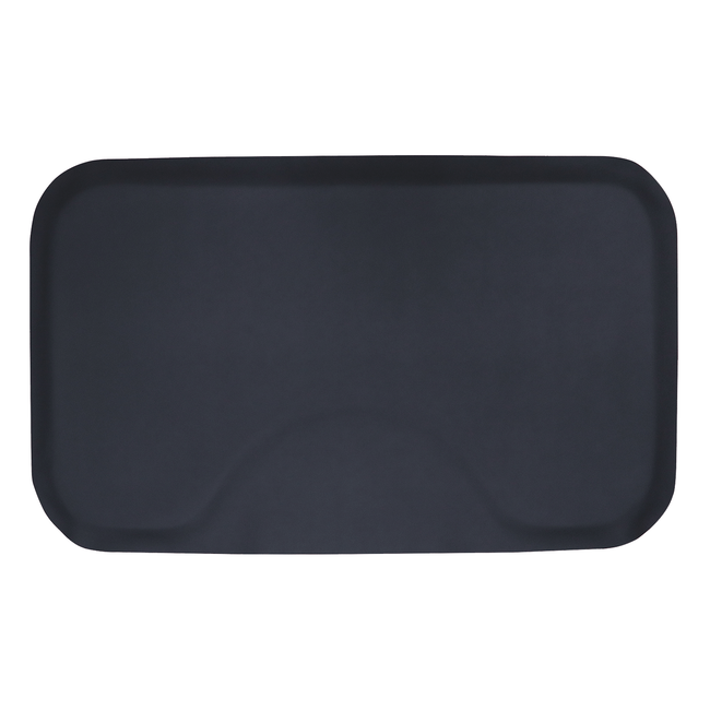 3 x 5 Black Solid Rectangle Mat