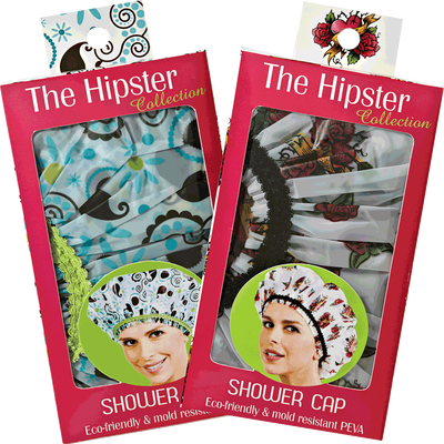 Betty Dain The Hipster Collection Shower Cap
