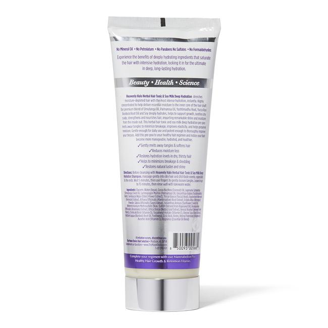 Heavenly Halo Herbal Hair Tonic & Soy Milk Deep Hydration Pre-Poo