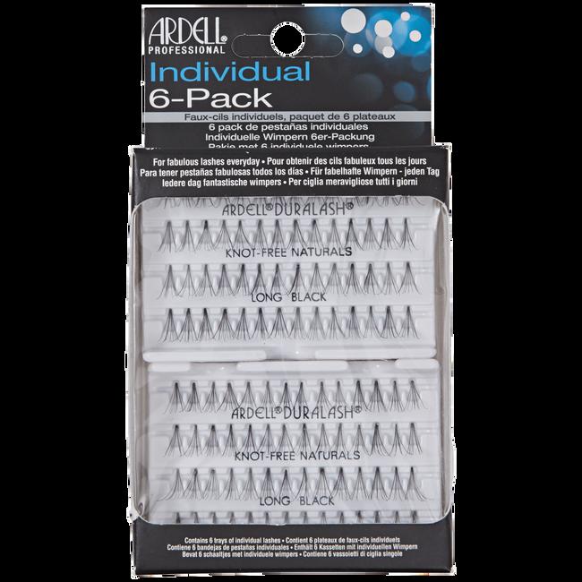 Individual 6 Pack Long Lashes