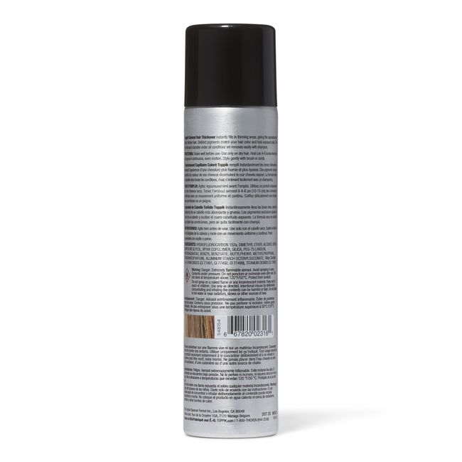 Medium Brown Thickening Colored Hair Spray