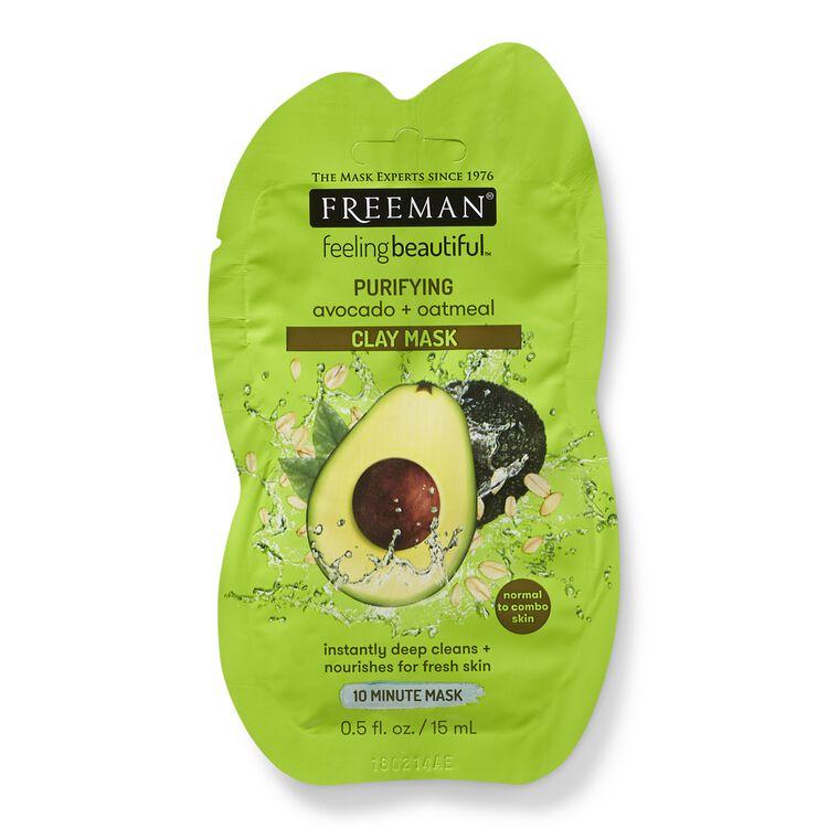 Avocado & Oatmeal Clay Mask