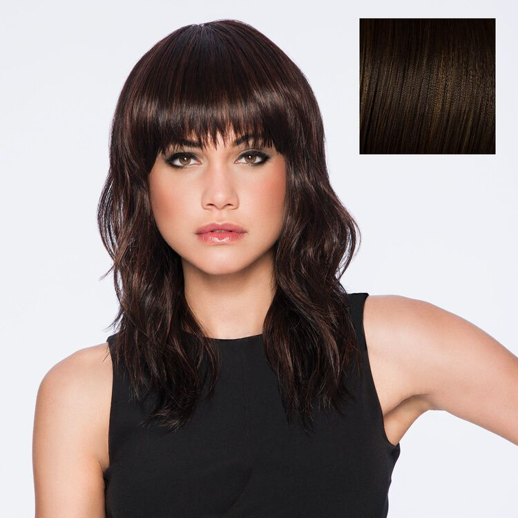 Wave Cut Wig Chestnut