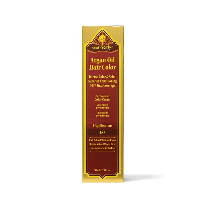 4NN Rich Natural Medium Brown  Argan Oil Permanent Hair Color