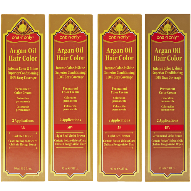 Permanent Hair Color Cream Red Series
