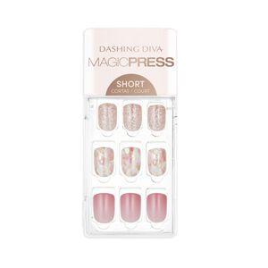 Magic Press on Nails Pink Passion- Short