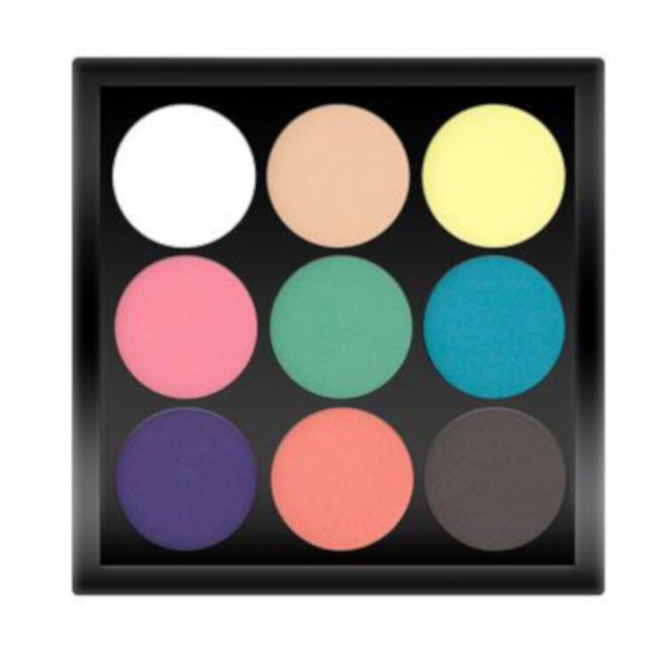 Small Eyeshadow Palette Rainbow Riot