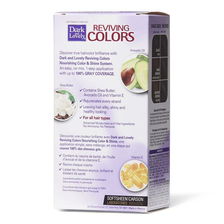 Radiant Black Semi Permanent Hair Color