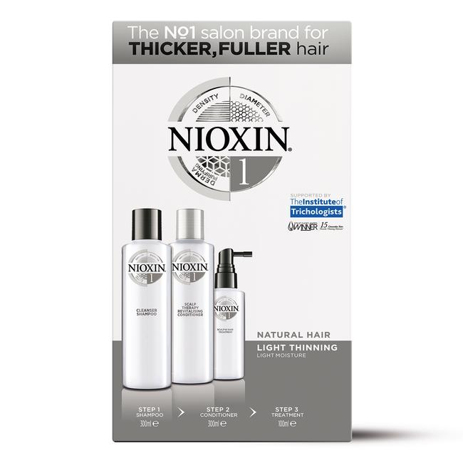 System 1 Kit for Thicker Fuller Natural Hair