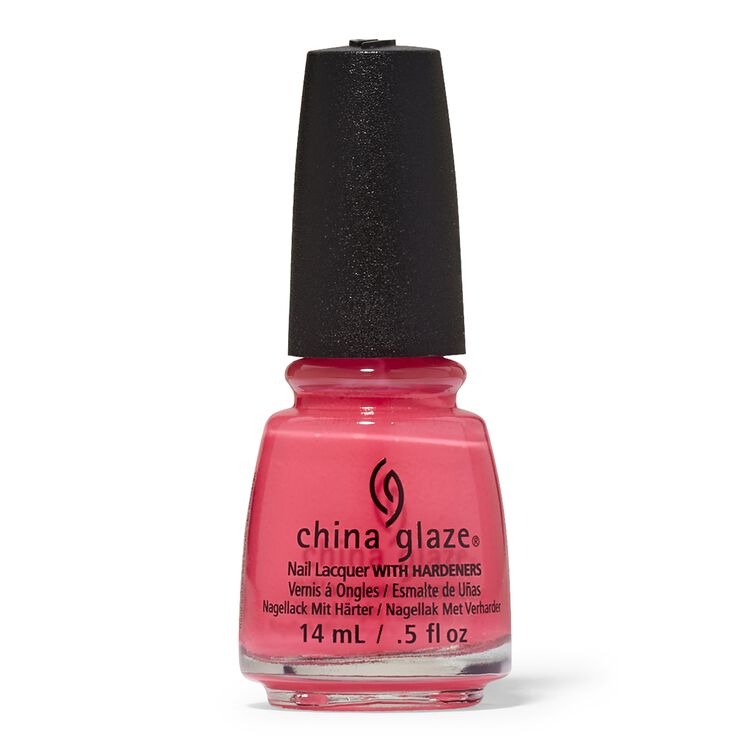 Neon Rose Among Thorns Nail Lacquer