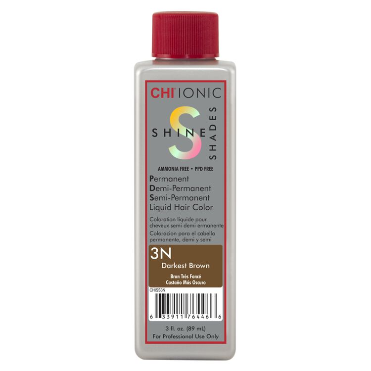 Ionic Shine Shades 3N Darkest Brown