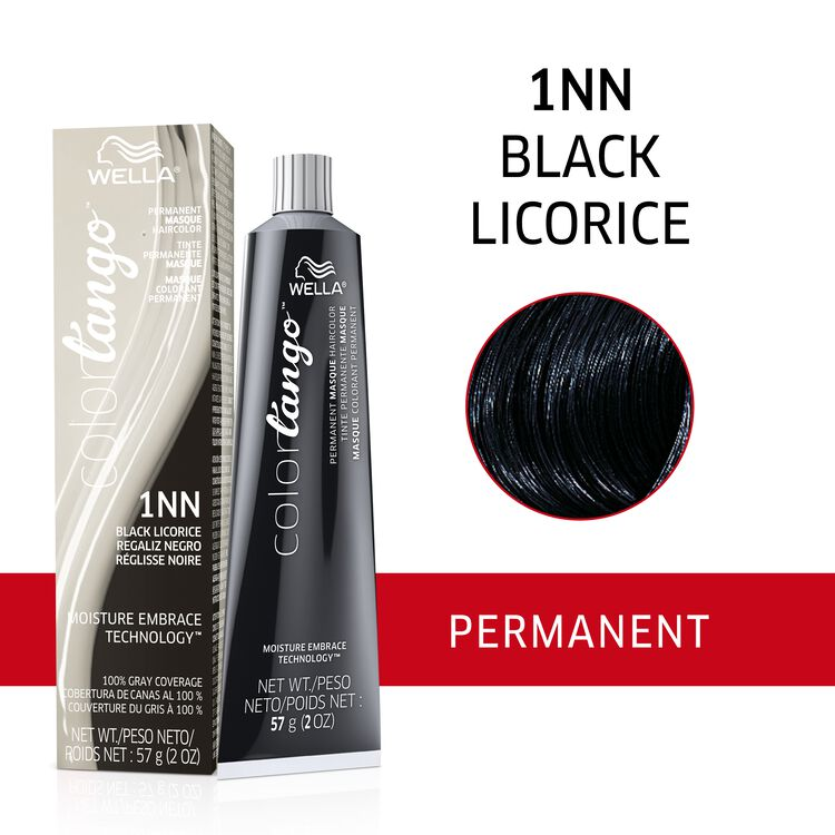 1NN Black Licorice Permanent Masque Hair Color