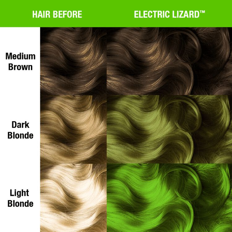 Electric Lizard Semi Permanent Cream Hair Color