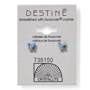 Destine Aqua Butterfly Earring