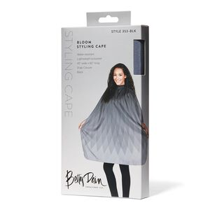 Bloom Styling Cape Black